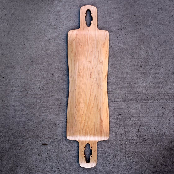Image of ACE OF DYMONDZ FREESTYLE DOUBLE DROP LONGBOARD DECK