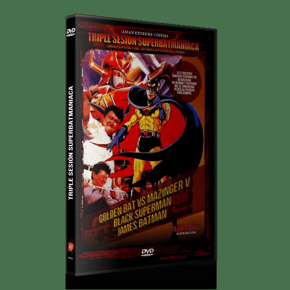 Image of Triple Sesión Super-Batmaníaca (2 DVD)