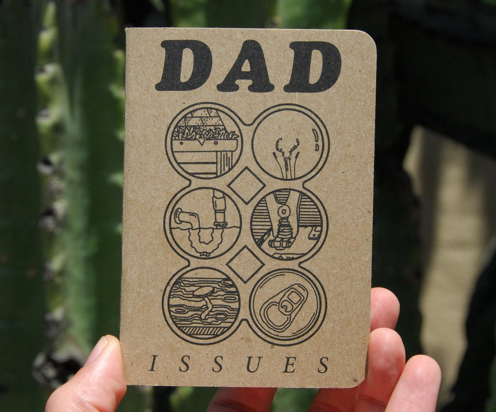 Image of Dad Issues '6 Pack' Journal