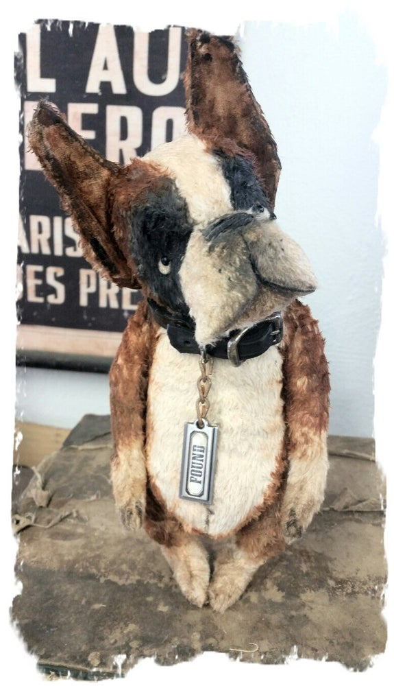 """Image of FOUND the Boxer Dog ~ 8"""" size -Frumpy Pup *  Whendi's Bears"""
