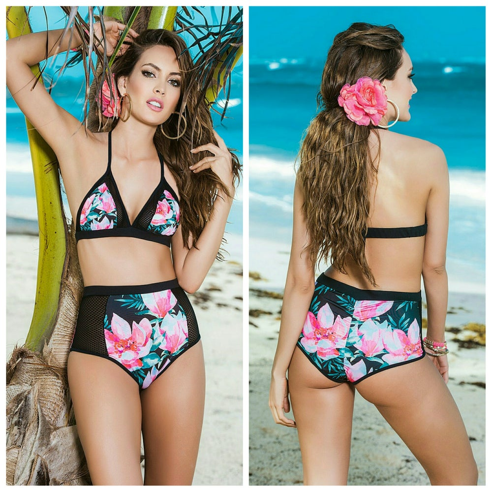 Image of Tropical Breese 2 Piece Retro