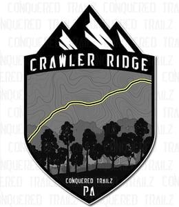 "Image of ""Crawler Ridge"" Trail Badge"