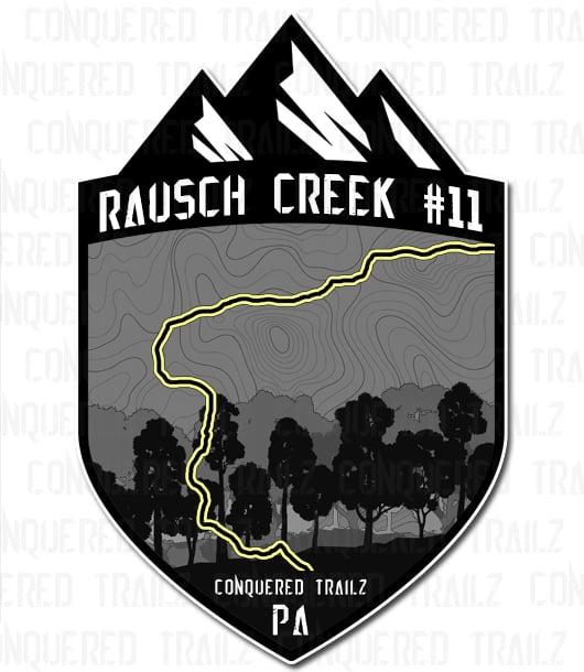 "Image of ""Rausch Creek #11"" Badge"