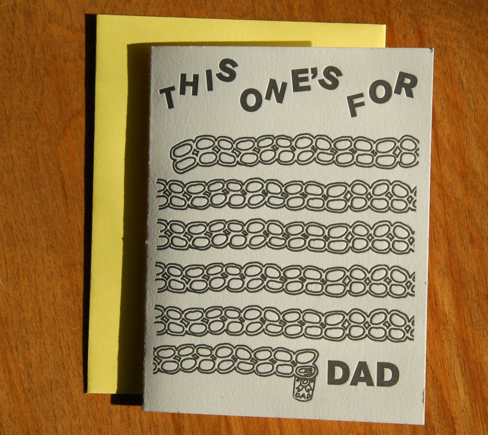 "Image of ""The Least I Could Do"" Cards for Dads"