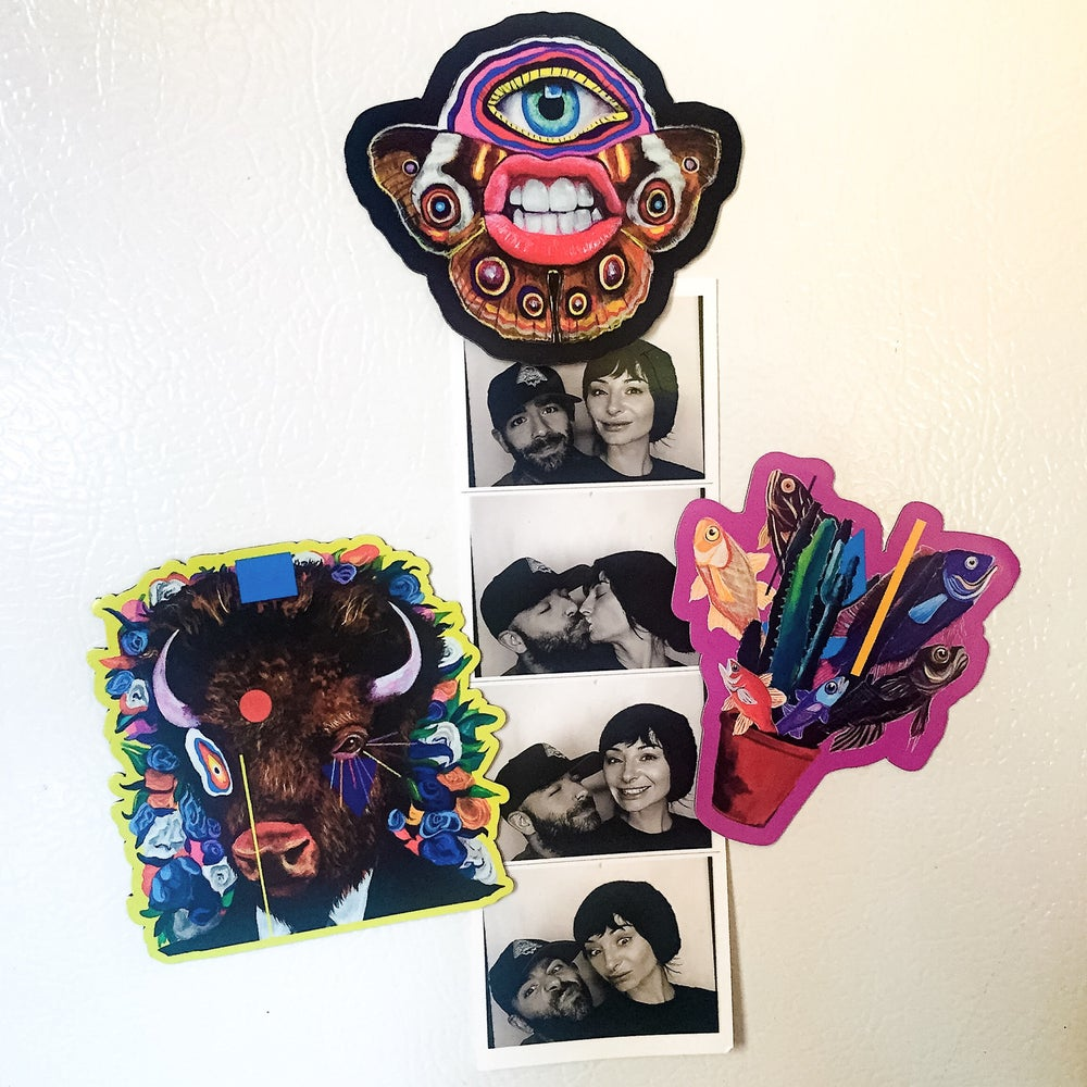 "Image of 3"" Die-Cut Magnet Set Of 3! (Cute Ass Photo not included)"