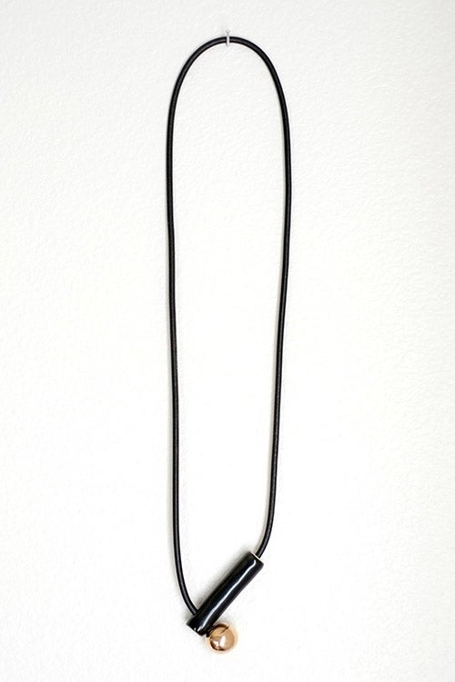 Image of pipe necklace