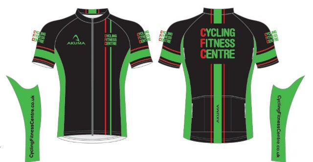 Image of Mens Short Sleeve Cycling Jersey