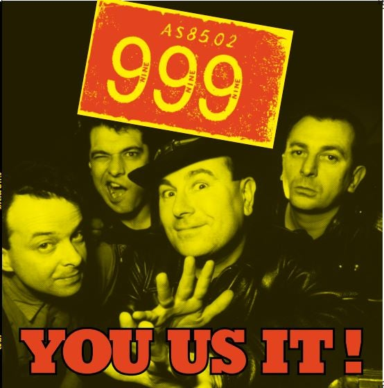 Image of 999, LP, You Us It