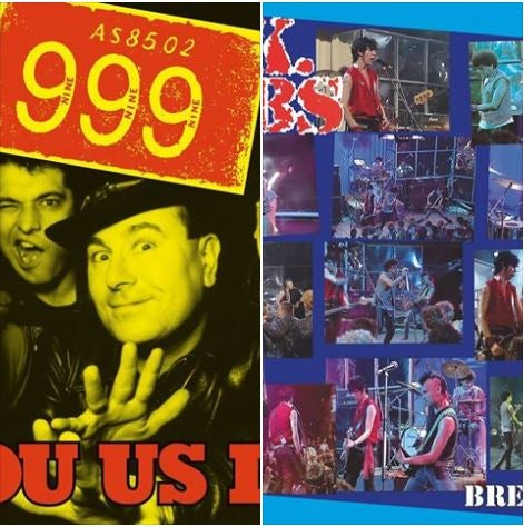 Image of UK SUBS + 999, LP