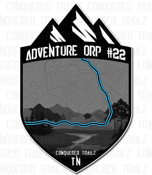 "Image of ""Adventure ORP #22"" Trail Badge"