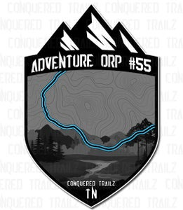 "Image of ""Adventure ORP #55"" Trail Badge"