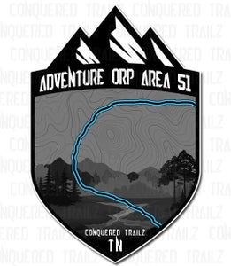 "Image of ""Adventure ORP - Area 51"" Trail Badge"