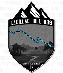"Image of ""Cadillac Hill #39"" Trail Badge"