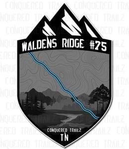 "Image of ""Waldens Ridge #75"" Trail Badge"