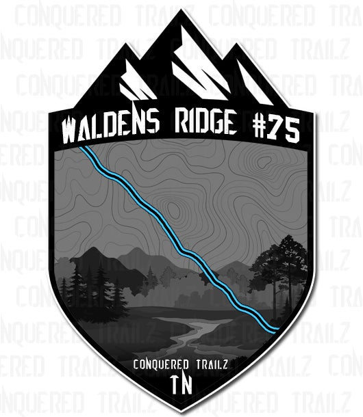 "Image of ""Waldens Ridge #75"" Trail Badge"