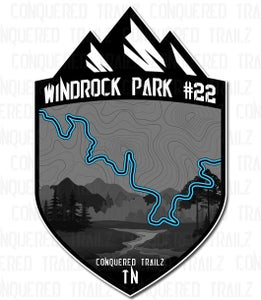 "Image of ""Windrock Park #22"" Trail Badge"