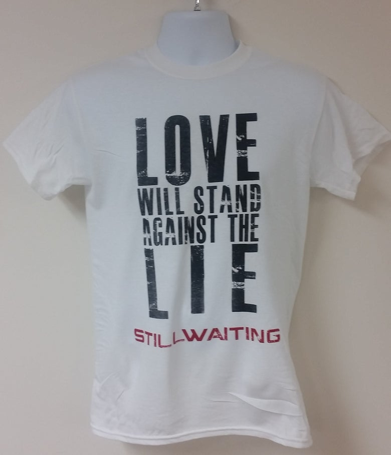 Image of Love Stands Lyric Tee