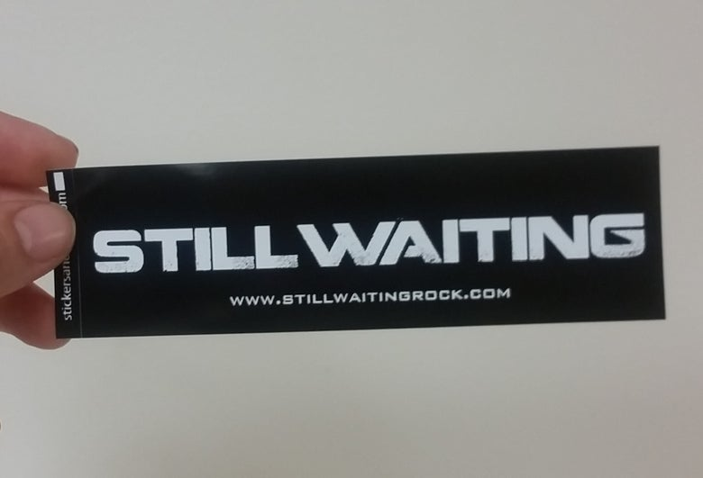 Image of StillWaiting Sticker