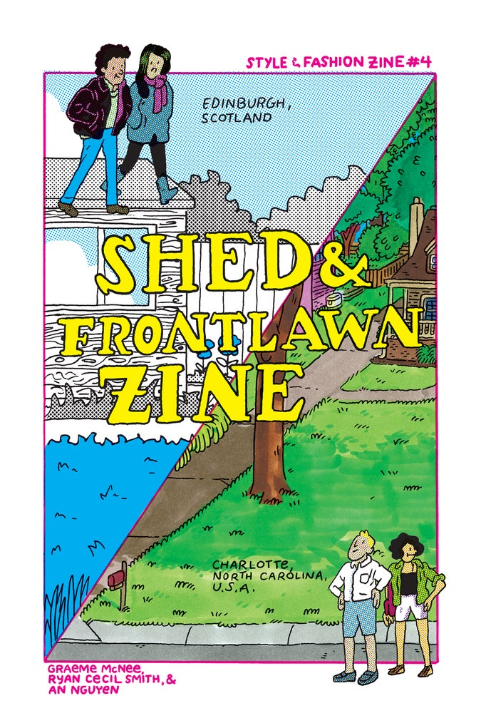 Image of Shed & Frontlawn Zine