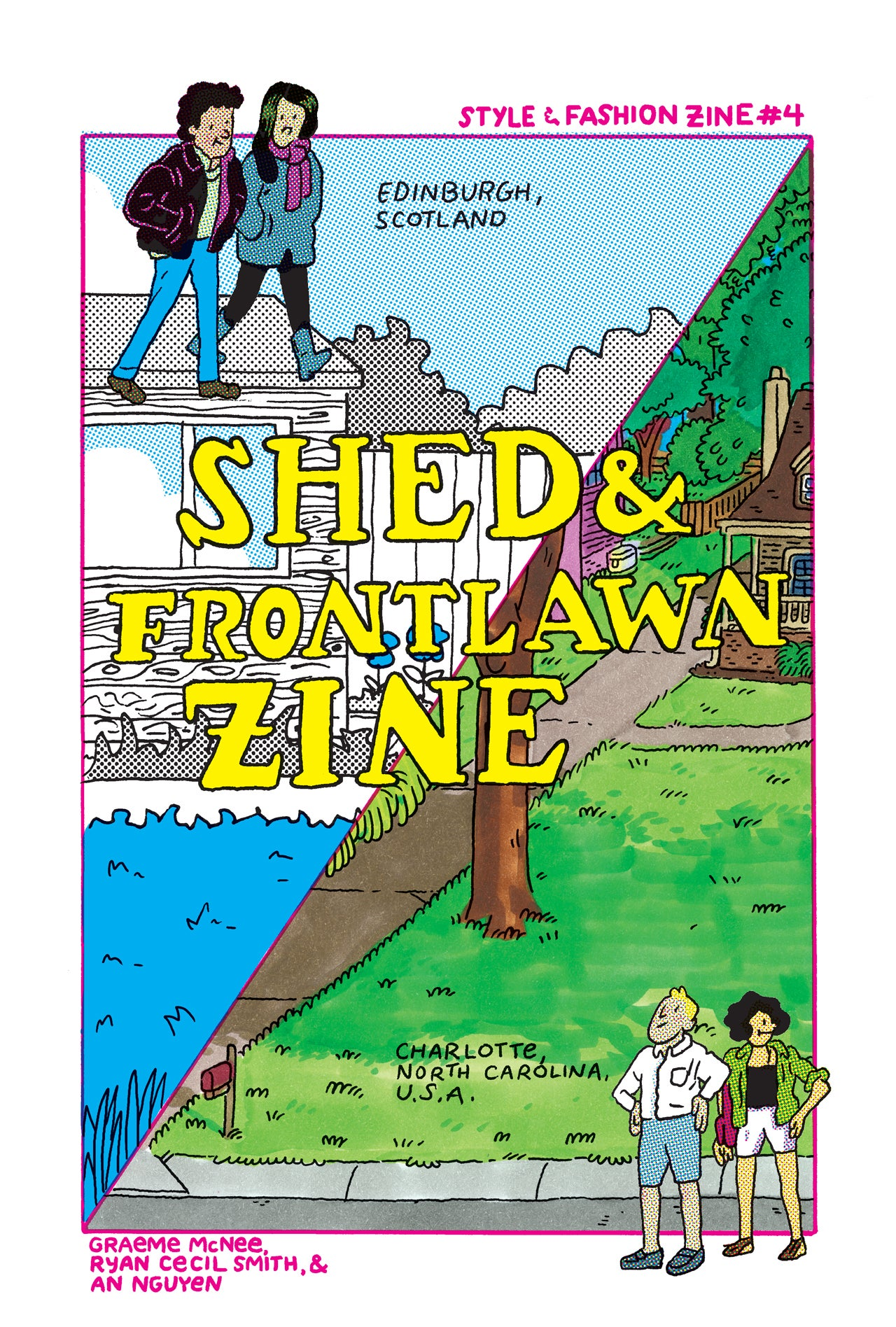 Shed & Frontlawn Zine