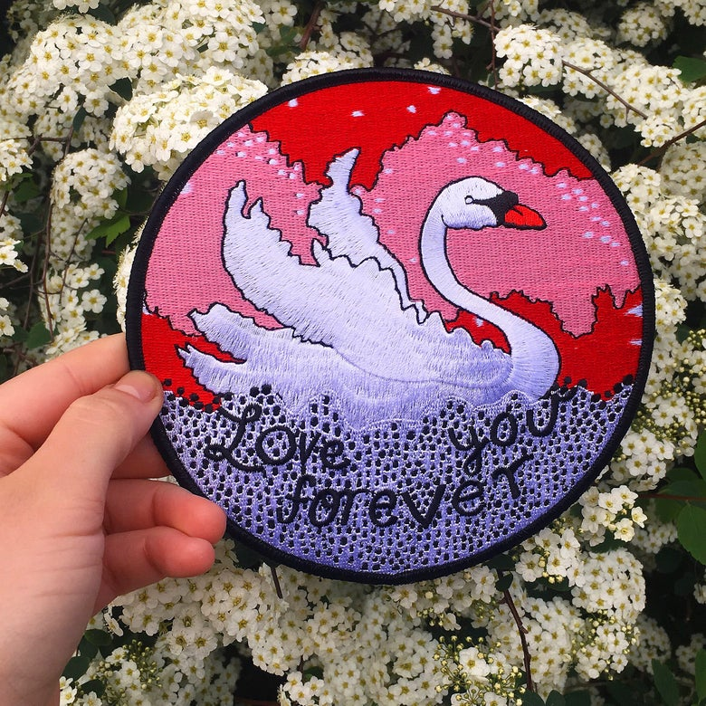 Image of Love You Forever Patch