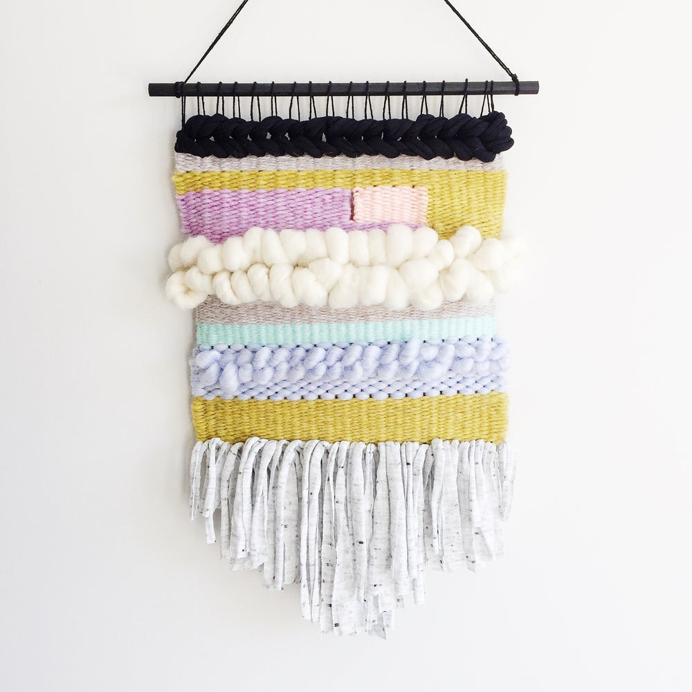 Image of Woven Wall Hanging - Licorice Allsort