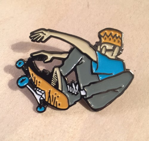 Image of WRENCH PILOT FRONTSIDE OLLIE PIN