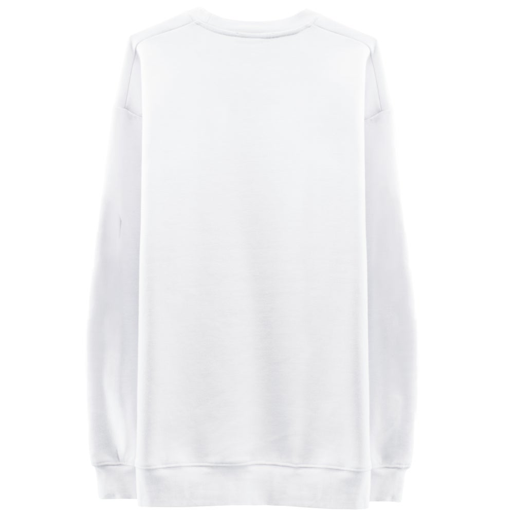 Image of VIGILANCE Sweatshirt - White