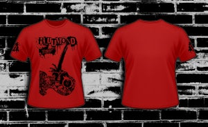 "Image of Blutmond Tee ""Waterboarding On A Stream Of Freedom"""