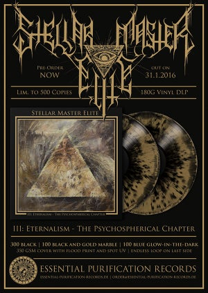 "Image of Stellar Master Elite - 2LP ""III: Eternalism"""