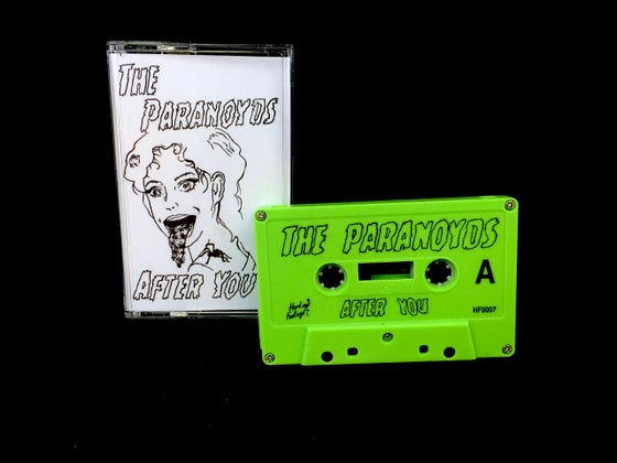 Image of The Paranoyds - After You Cassette EP - SLIME GREEN