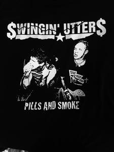 Image of Swingin Utters-Pills and Smoke t shirt