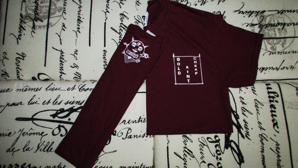 Image of G.A.C. Shirt (Maroon)