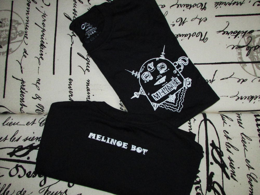 Image of Melinoe Bot Shirt (Black)