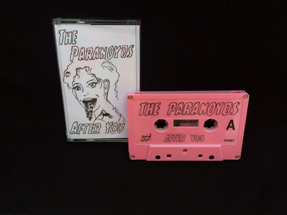 Image of The Paranoyds - After You Cassette EP - WATERMELON PINK