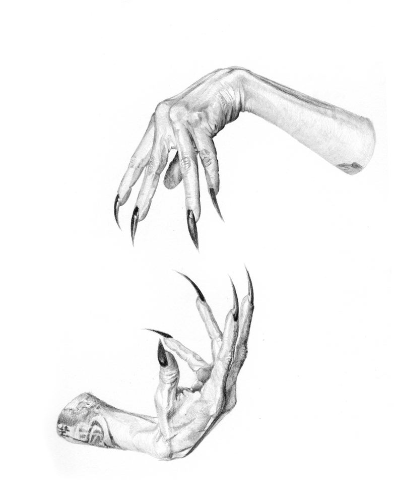 Image of Reserved-------Cage Hands