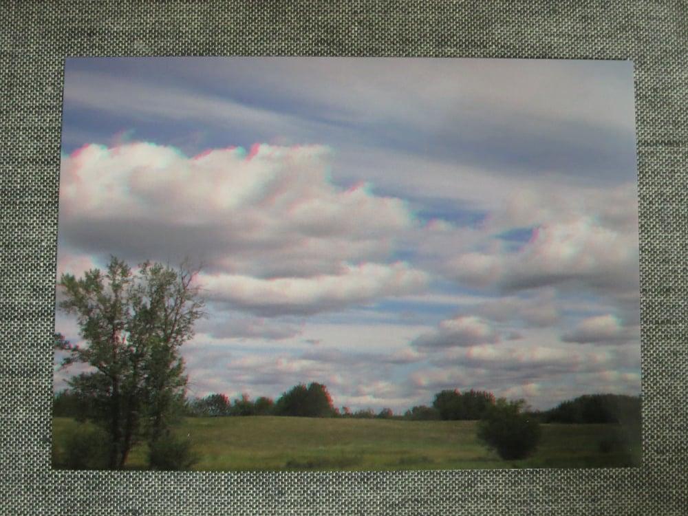 Image of 3d postcard - farm