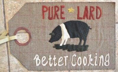 Image of Pure Lard - Vintage Tag Series