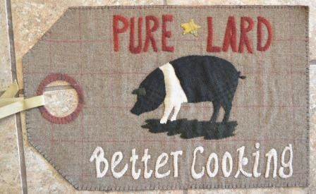 Image of Pure Lard - Vintage Tag Series