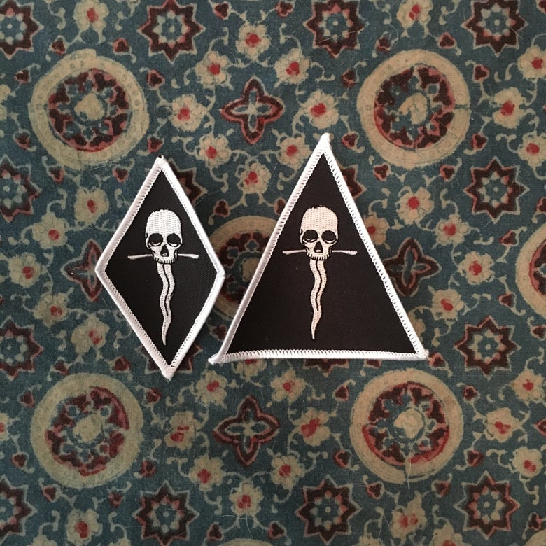 Image of Sweat Lodge Logo Diamond or Triangle Patch