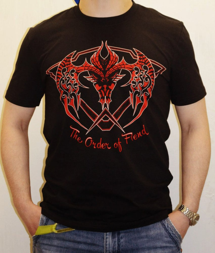 Image of The Order Of Fiend T-shirt