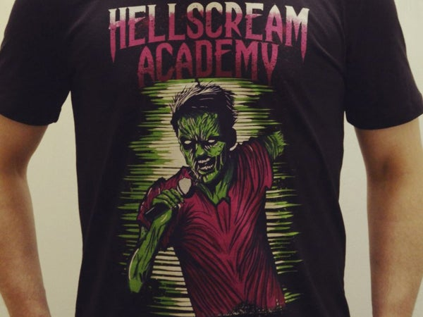 Image of Hellscream Academy T-shirt