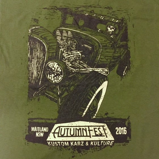 Image of AutumnFest Guys T-Shirt Military Green