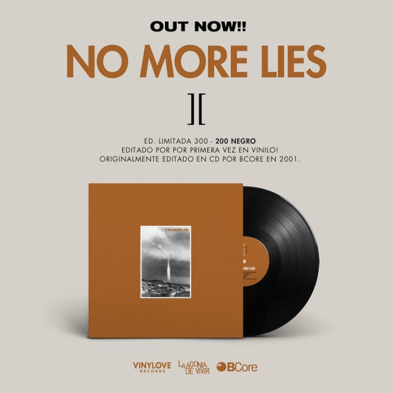 "Image of LADV68 - NO MORE LIES ""]["" LP REISSUE"