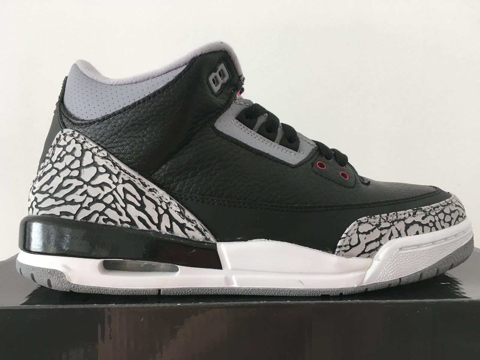 reputable site 90ae2 3efa5 Jordan 3 Black Cement 2011 GS 2011