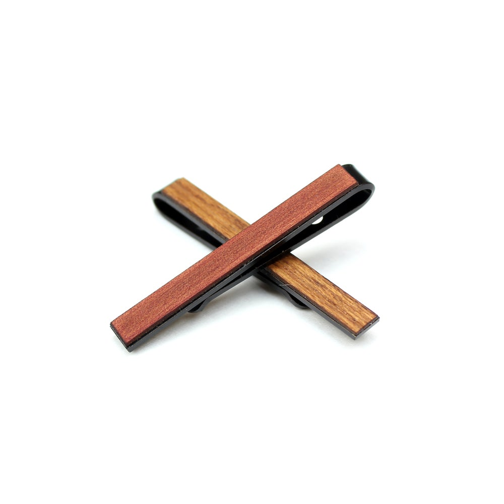 Image of TIMBER Woodskin Gunmetal Tie Bar
