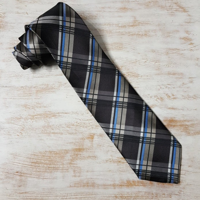 Image of BROWNLEDGE PLAID NECKTIE