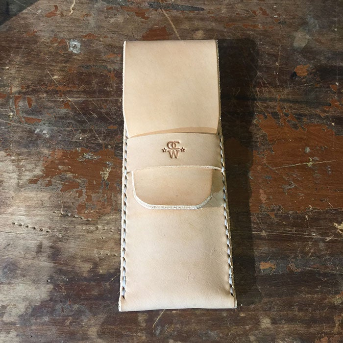 Image of 5 Blackwing Leather Pencil Pouch