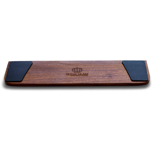 Image of Royal Glam Black Walnut Wooden Wrist Rest