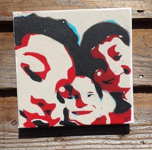 Image of Customised box canvas